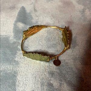 Bourbon and Bowties arrowhead bracelet, size large